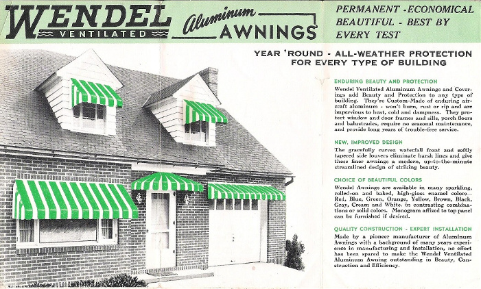 the wendel awning company wendel family