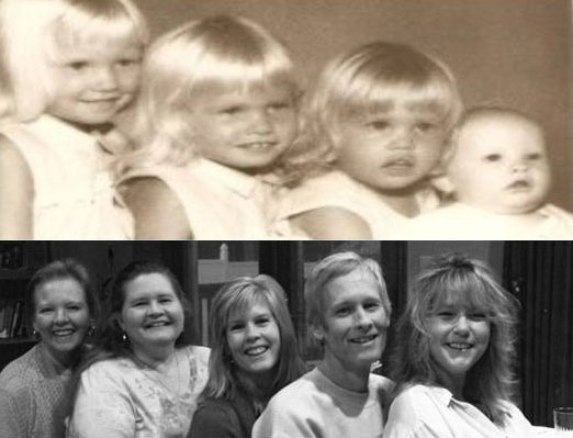 Bill Wendel's kids now & then